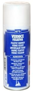 Vernis Spray Fixador 400ml UNI
