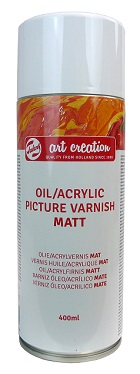 Verniz Spray para Quadros Art Creation Mate 400ml Talens.