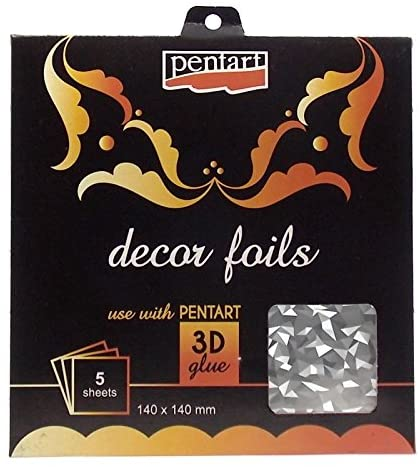 Folhas Decor Foils Holograma Breaks Pentart