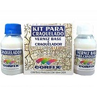 Kit Craquelador Incolor 60ml Corfix