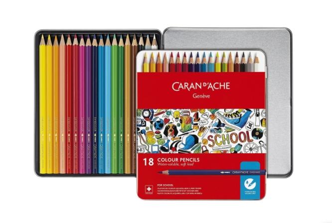 f97cfc15b2 Conjunto Lápis Cor Aguarela School Fine - Provoca Arte - material de ...