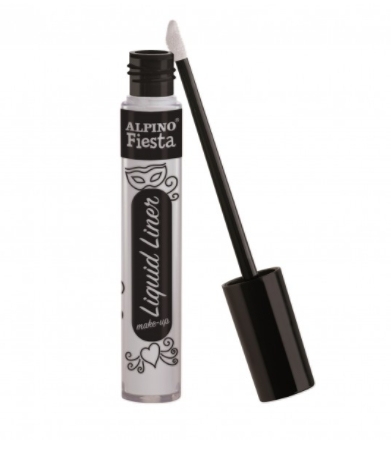 Tinta Facial Liquid Liner Make-Up branca Alpino
