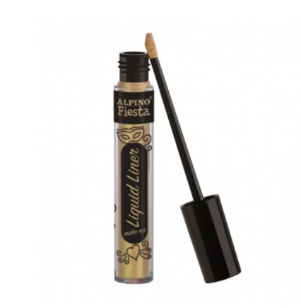Tinta Facial Liquid Liner Make-Up ouro Alpino