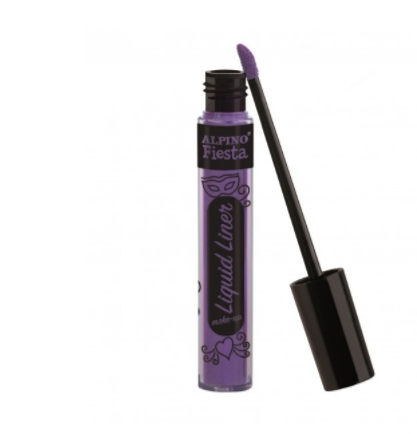 Tinta Facial Liquid Liner Make-Up violeta Alpino