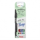 Pack Marcadores Sign Pen Brush Small Things Pentel
