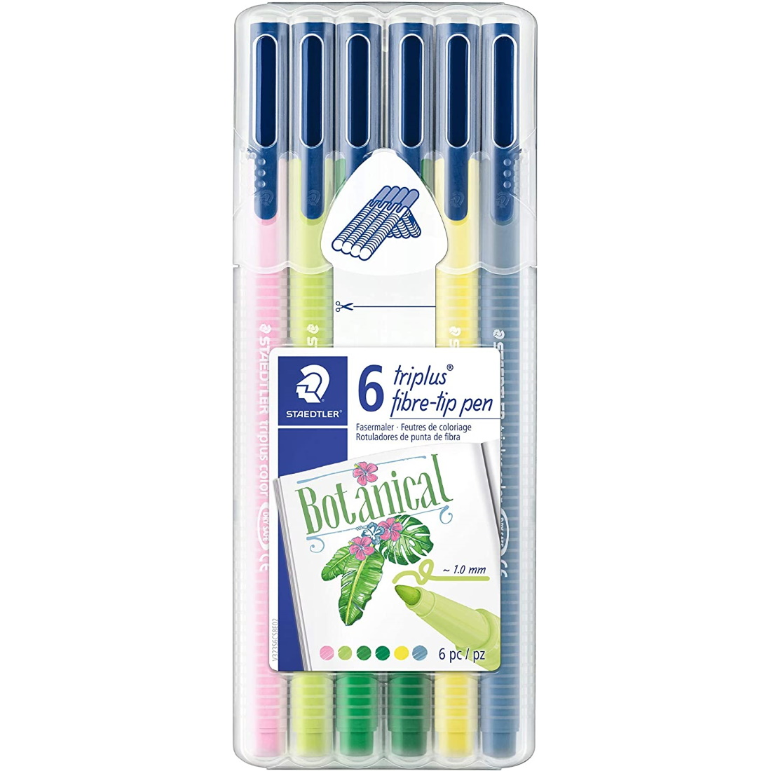 Marcadores Triplus My Colours Botanical STAEDTLER
