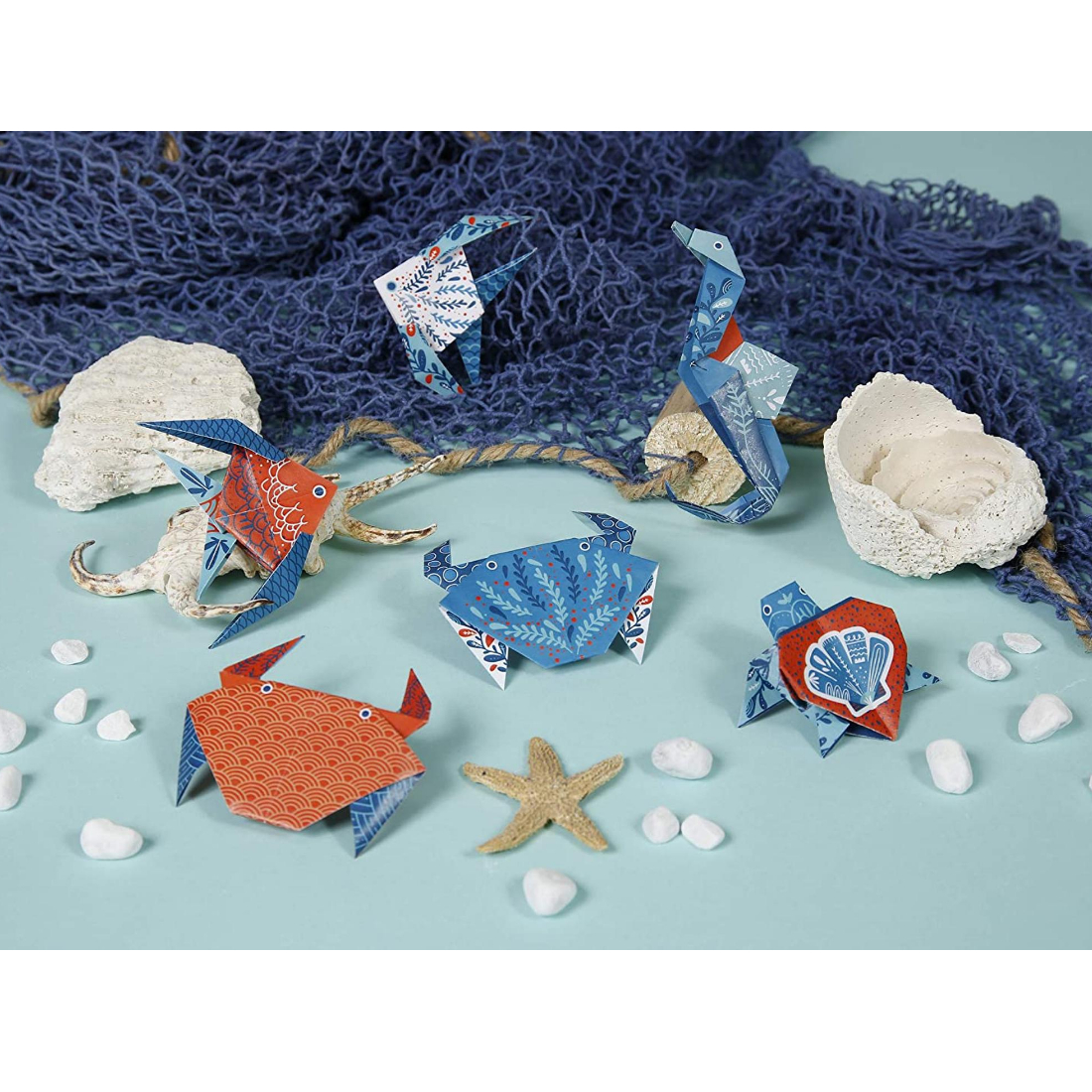 Papel Origami Sea Animals clairefontaine