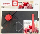 Placa para Caixas Quadradas - Gift Box Punch Board da WE R Memory Keepers