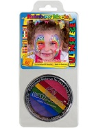 Tinta facial rainbow magic 20ml da eulenspiegel.
