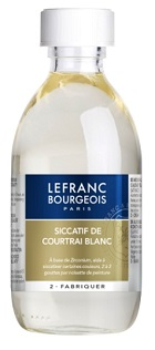 Secativo de Courtrai Branco 250ml Lefranc & Bourgeois.