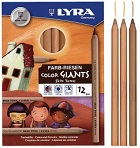 Conjunto Lápis Colour Giants Skin Tones